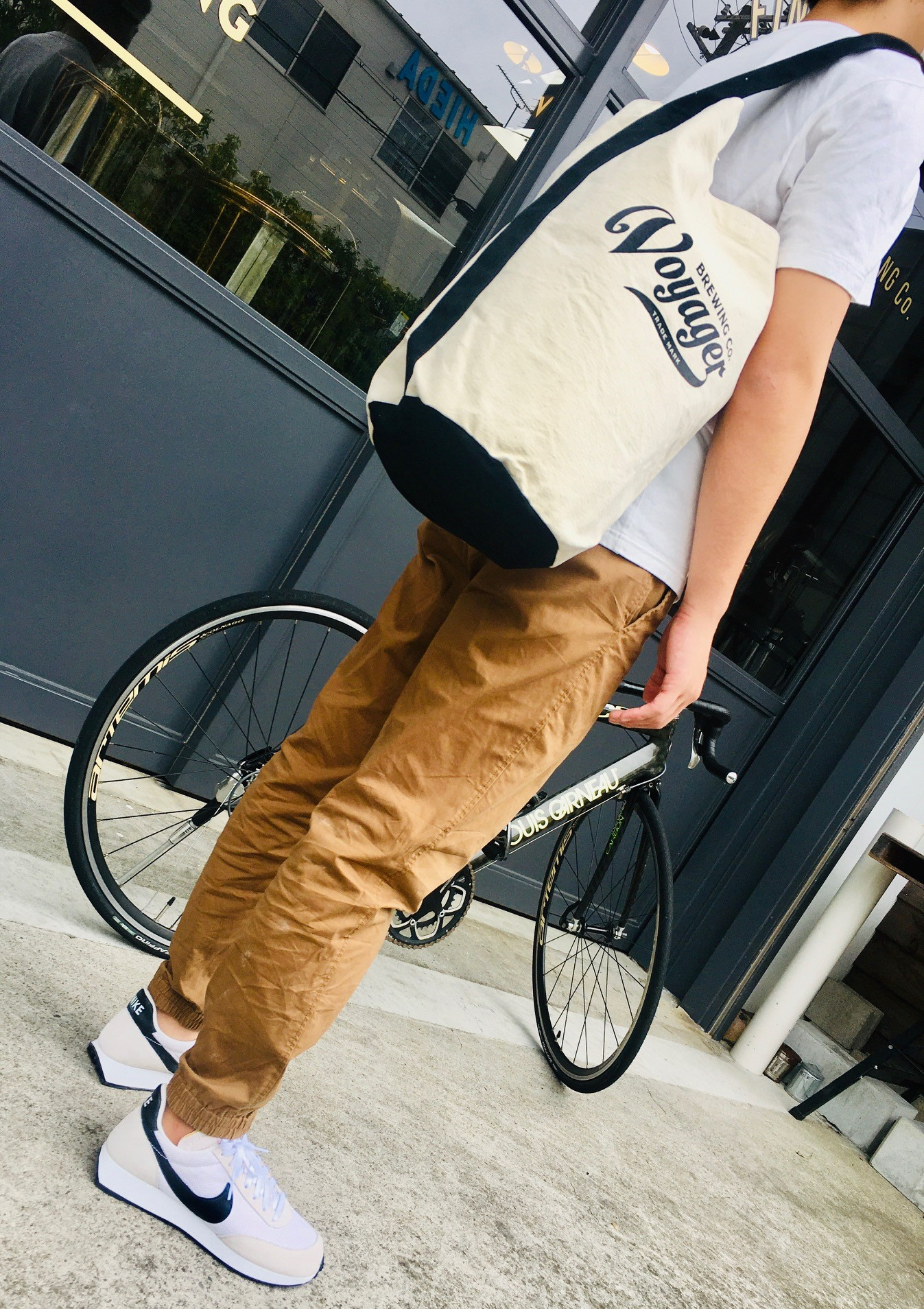 Canvas Shoulder Bag (キャンバスショルダーバッグ)