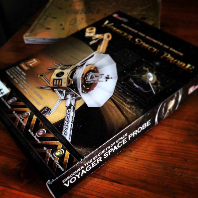 惑星探査機VOYAGERの3Dパズルでクラフトビールのブランドイメージを模索する