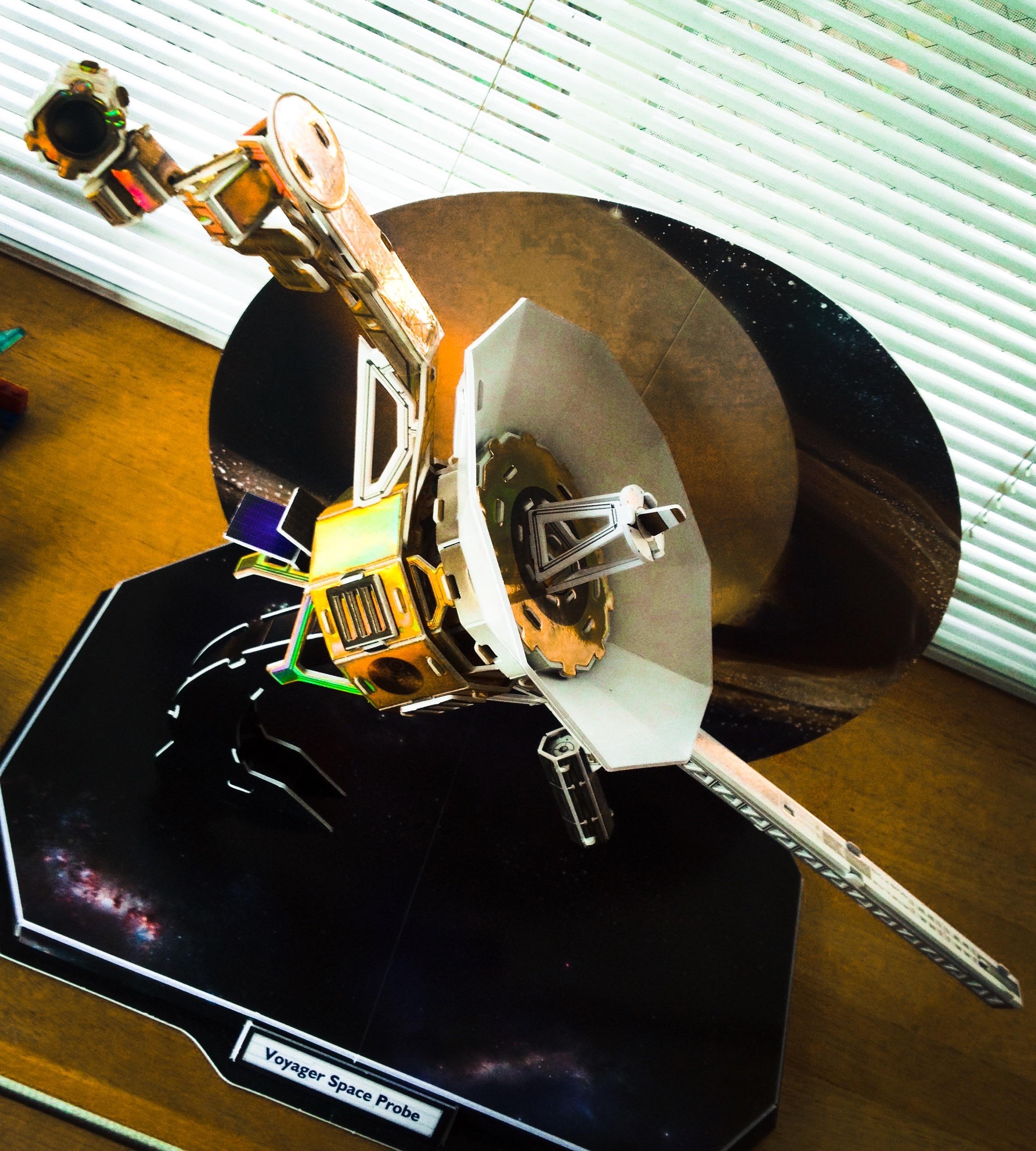 惑星探査機ボイジャー完成 / クラフトビール醸造所の完成はまだまだこれから