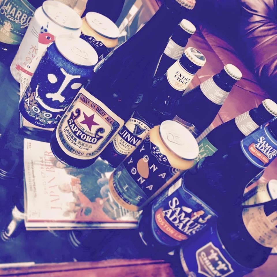 サヨナラ・アリガト ブルワリー仮事務所会 / ビールで打ち上げ