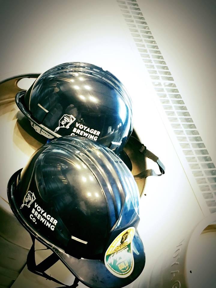 VOYAGER BREWING オリジナルヘルメット