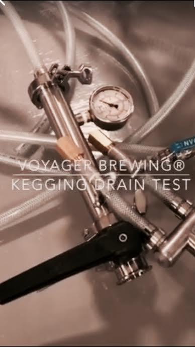 樽詰め / KEGGING DRAIN TEST