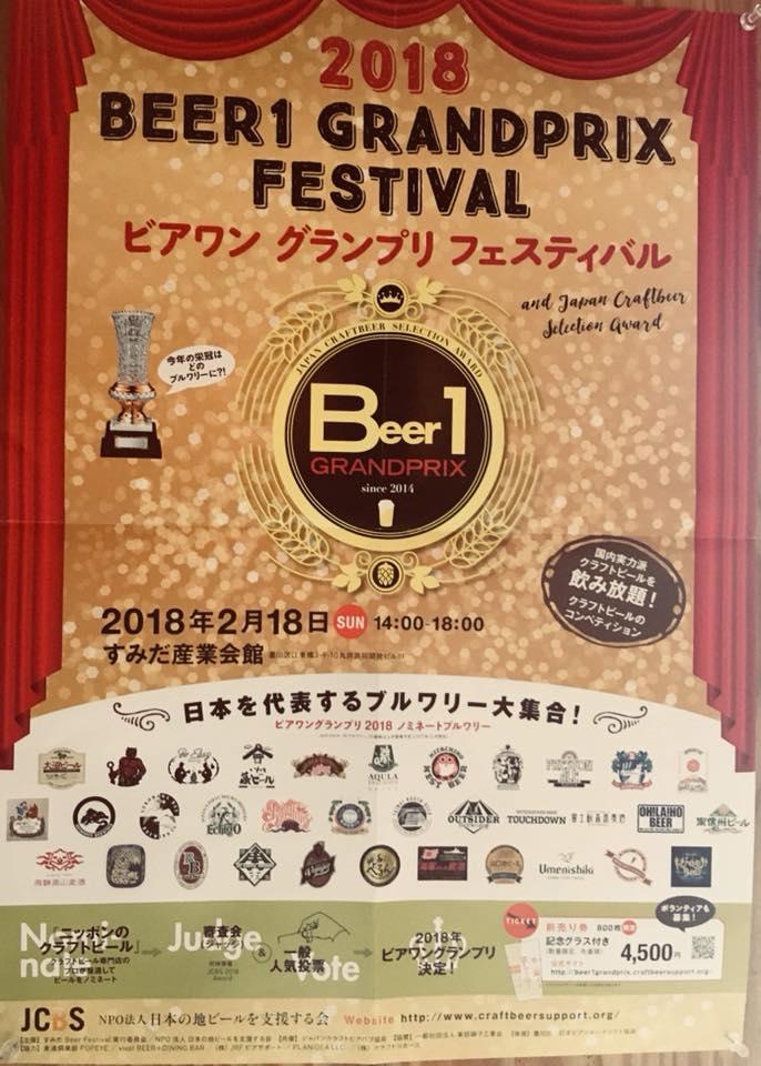 BEER1 GRANDPRIX FESTIVAL 2018